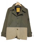NATAL DESIGN(ネイタルデザイン)の古着「スウィッチトレンチ 60/40」