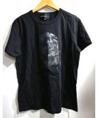 Dartin Bonaparto(ダルタンボナパルト)の古着「スパンコールMICK T」|ブラック