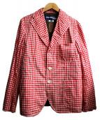 CDG JUNYA WATANABE MAN(コムデギャルソン ジュンヤワタナベ)の古着「リバーシブルジャケット」|レッド