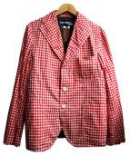 CDG JUNYA WATANABE MAN(コムデギャルソンジュンヤワタナベマン)の古着「リバーシブルジャケット」|レッド