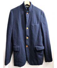 CDG HOMME PLUS(コムデギャルソンオムプリュス)の古着「ウールジャケット」|ネイビー
