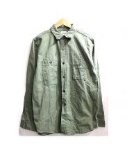 BIG YANK(ビッグヤンク)の古着「ワークシャツ」|カーキ