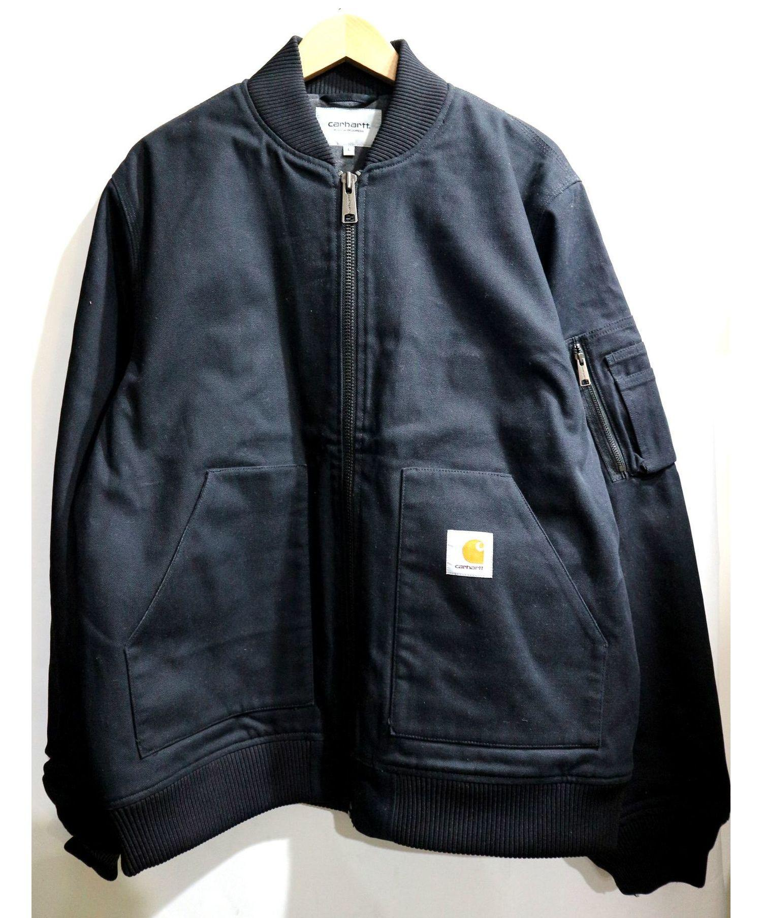 buy good get new new lower prices Carhartt WIP (カーハート ダブリューアイピー) INDUSTRIAL JACKET ブラック サイズ:L 定価¥38880