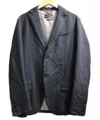 DIESEL BLACK GOLD(ディーゼル ブラック ゴールド)の古着「ジップテーラードジャケット」