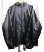 HOMERUN(ホームラン)の古着「ジップジャケット」 ブラック