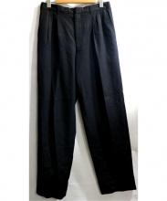 CDG HOMME DEUX(コムデギャルソン オム ドゥ)の古着「ツータックスラックス」 ブラック