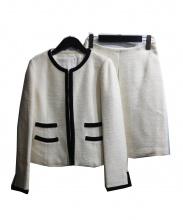 ANAYI(アナイ)の古着「ノーカラースカートセットアップ」