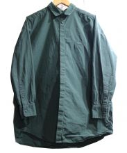 Dulcamara(ドゥルカマラ)の古着「トレンチシャツ」 グリーン
