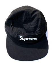 SUPREME(シュプリーム)の古着「Raised Logo Patch Camp Cap」|ブラック