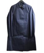 MACKINTOSH(マッキントッシュ)の古着「DUNKELD ゴム引きコート」|ネイビー