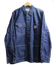 Carhartt WIP(カーハート ダブリューアイピー)の古着「MICHIGAN CHORE COAT」|インディゴ