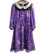 6%DOKIDOKI(ロクパーセントドキドキ)の古着「Dress upシフォンワンピース」