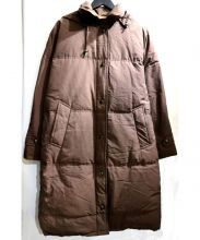 allegri(アレグリ)の古着「60/40クロスダウンコート」|ブラウン