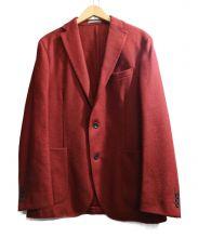 BOGLIOLI(ボリオリ)の古着「3Bウールジャケット DOVER」|赤茶