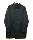 JOSEPH HOMME(ジョセフ オム)の古着「ライナー付ステンカラーコート」|ブラック