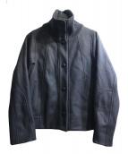 SONIA RYKIEL(ソニア リキエル)の古着「ジャージージャケット」 ブラック