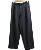 YS for men(ワイズフォーメン)の古着「ストライプウールパンツ」