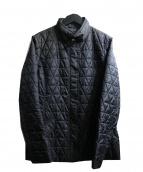 EVEX by KRIZIA(エヴェックスバイ クリツィア)の古着「中綿ジャケット」 ブラック