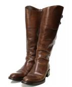 SARTORE(サルトル)の古着「ロングブーツ」|ブラウン