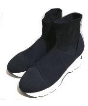 SNIDEL(スナイデル)の古着「スニーカーソールニットショートブーツ」