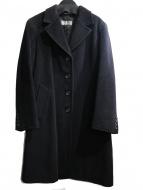 Max Mara(マックスマーラ)の古着「ヴァージンウールコート」|ブラック