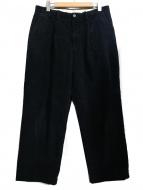 RICCARDO METHA(リカルドメッサ)の古着「コーデュロイパンツ」 ブラック