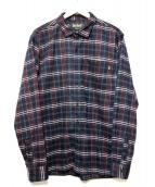 BELIEF(ビリーフ)の古着「Camper Flannel」|ネイビー