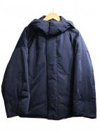 Gymphlex(ジムフレックス)の古着「2WAYフードダウンジャケット」|ネイビー