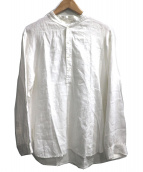 FLIPTS&DOBBELS(フィリップスダブルス)の古着「ベルギーリネンプルオーバーシャツ」