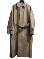 DRAWER(ドゥロワー)の古着「ロングステンカラーコート」|ベージュ