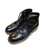 ALDEN(オールデン)の古着「サービスブーツ クロムエクセル」 ブラック