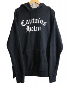 CAPTAINS HELM(キャプテンズ ヘルム)の古着「OLD ENGLISH LOGO HOODIE」