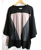 SHAREEF(シャリーフ)の古着「幾何学Tシャツ」