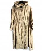 URBAN RESEARCH(アーバンリサーチ)の古着「フードロングワンピコート」