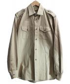 GUCCI(グッチ)の古着「エポレットシャツ」