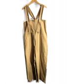 MARU TO(マルト)の古着「ベアトップ型オーバーオール」