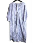 SLOBE IENA(スローブ イエナ)の古着「ストライプロングシャツワンピース」