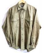 Patagonia(パタゴニア)の古着「オーガニックコットンシャツ」|オリーブ