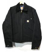 carhartt(カーハート)の古着「Duck Detroit Jacket」 ブラック