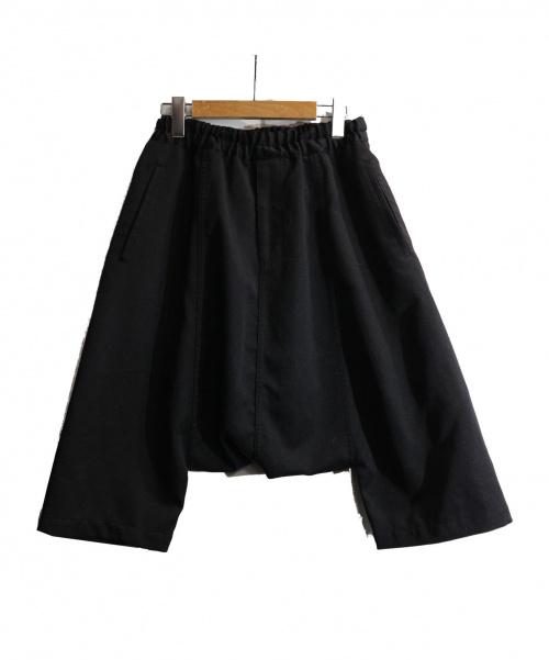 BLACK COMME des GARCONS(ブラックコムデギャルソン)BLACK COMME des GARCONS (ブラックコムデギャルソン) サルエルパンツ サイズ:S AD2013の古着・服飾アイテム