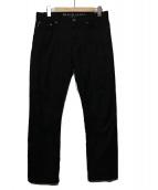BLACK LABEL CRESTBRIDGE(ブラックレーベルクレストブリッジ)の古着「シャドーチェックパンツ」|ブラック