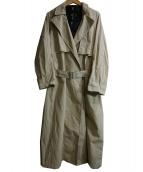 BEARDSLEY(ビアズリー)の古着「インナーダウン付ラフトレンチコート」|ベージュ