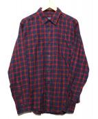 Patagonia(パタゴニア)の古着「lsピマコットンシャツ」|レッド