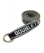 doublet(ダブレット)の古着「JACQUARD TAPE KNIT BELT」