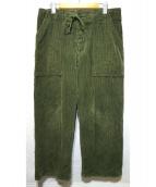 JANE SMITH(ジェーンスミス)の古着「CORDUROY BAKER PANTS」