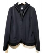 Y-3(ワイスリー)の古着「襟・裏地ロゴジャージジャケット」|ブラック