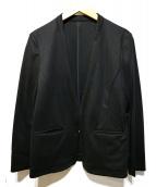 Demi-Luxe Beams(デミルクスビームス)の古着「ポンチノーカラーVネックジャケット」