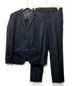 THE SHOP TK MIXPICE(ザショップティーケーミクスパイス)の古着「フォルモザセットアップスーツ」|ブラック