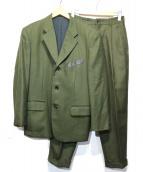 CDG HOMME PLUS(コムデギャルソンオムプリュス)の古着「ウールセットアップスーツ」|カーキ