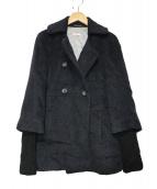 MAX&Co.(マックスアンドコ)の古着「アルパカウールジャケット」|ブラック